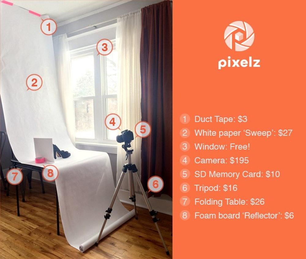 Como En Casa: DIY 1: Cómo Crear Un Estudio Fotográfico Low Cost